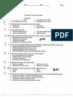 tpa 3 documents  test and key