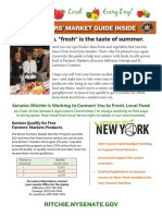 Senator Patty Ritchie 2016 Farmers Market Guide