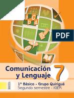 Libro Quiriguá Com. y Lenguaje 2º Sem