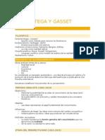 José Ortega y Gasset - Selectividad