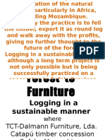 Forest to Furniture FEWS