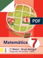 Libro Quiriguá Matemática 2º Sem