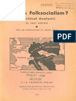 What is Folksocialism a Critical Analysis