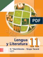 Libro Tacaná Lengua y Lite. 2º Sem