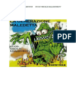 La Generazione Maledetta - hugo n. kalashnikov