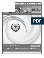 2011-Proposed Capital Improvement Program