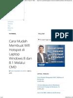 Cara Mudah Membuat Wifi Hotspot di Laptop Windows 8 dan 8.1 Melalui CMD - Pintar Komputer.pdf