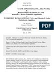 Bell & Murphy and Associates, Inc., John W. Bell, Jr., Harold D. Barnett, Robert D. Hamer, Jr., and Richard L. Mears v. Interfirst Bank Gateway, N.A., and Charles E. Jobe, 894 F.2d 750, 1st Cir. (1990)