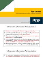 Sanciones y Garantias