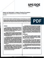 Design and Optimization Alkaline