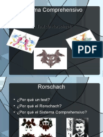 rorschach sistema comprehensivo
