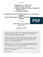 59 Fair empl.prac.cas. (Bna) 1037, 59 Empl. Prac. Dec. P 41,700 Massachusetts Association of Afro-American Police, Inc. v. The Boston Police Department, Boston Police Superior Officers Federation, Intervenor, 973 F.2d 18, 1st Cir. (1992)