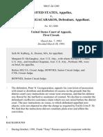 United States v. Peter N. Georgacarakos, 988 F.2d 1289, 1st Cir. (1993)
