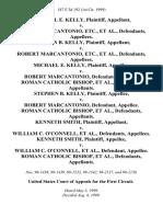 Michael E. Kelly v. Robert Marcantonio, Etc., Stephen B. Kelly v. Robert Marcantonio, Etc., Michael E. Kelly v. Robert Marcantonio, Roman Catholic Bishop, Stephen B. Kelly v. Robert Marcantonio, Roman Catholic Bishop, Kenneth Smith v. William C. O'connell, Kenneth Smith v. William C. O'connell, Roman Catholic Bishop, 187 F.3d 192, 1st Cir. (1999)