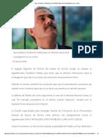 01/06/16 Juez ampara a Guillermo Padrés para no difundir datos de la investigación en su contra -Etcétera