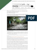 Inundaciones En Córdoba Argentina 2015
