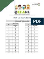 Efanl Respuestas 3deg de Secundaria PDF 48713