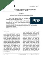 No 19 - Erlyn Nurba Selesai 2297-2308-Analisis Tingkat Kepuasan Pelayanan Publik Pada Puskesmas Loa Janan