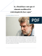 José Gabriel Palma y La Economía 2015 (Crítica)