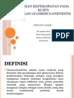 Asuhan Keperawatan Pada Klien Glumerulonefritis