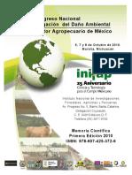 2do.congreso Nacional Mitigacion Dano Ambiental en El Sector Agropecuario de Mexico