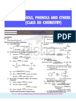 Alcohols,Phenols and Ethers Notes