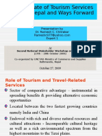 Current State of Tourism Service Sector_Unctad Presentation 2