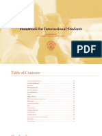 Student Handbook Online
