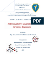 Clorhidrato de Procaína