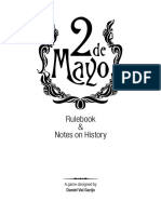 2 de Mayo Rulebook English