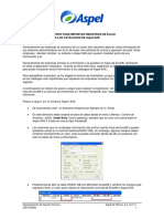 Importación Inventarios de Excel a Aspel-SAE 4.0