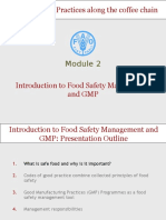 Introduction to Food Safety Management and GMP - Download