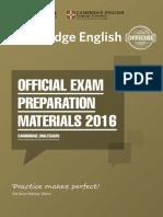 CEP 2016 Catalogue