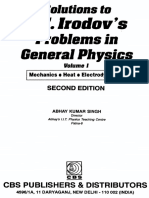 Irodov, Problems in General Physics - Singh Solution 1(1)