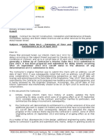 2016-05-22 0004423-NS-MPW-3763-16 Interim Claim No.2 - Extension of Time and Additional Payment Entitlements as at 25 April 2015