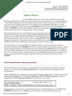 Domain Index Macros