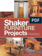 Shaker Furniture Projects 2014