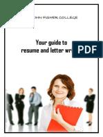 Careers Week Student Resource Booklet