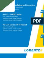 Lorentz Ps Manual