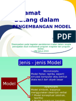 Workshop Psssengembangan Model