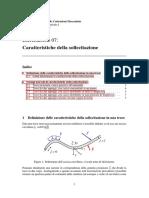 Prof. Santus - Esercitazioni Di Caratteristiche Della Sollecitazione I