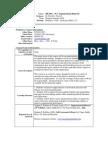 UT Dallas Syllabus for ob6301.5u1.10u taught by David Ford Jr (mzad)