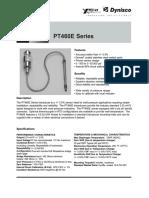 Dynisco Melt Pr Transducer Pt462 e