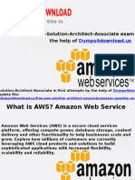 AWS Solution Architect Associate Exam Dumps