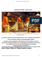 List of Events in India – June 2016 _ Tourism Infopedia