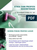Etika Dan Profesi Kedokteran - Zs