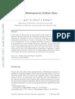 [Article - Bigatti, Caboara, Robbiano - 2009] Computing Inhomogeneous Grobner Bases