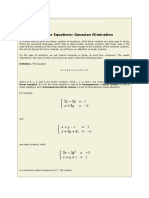 Systems of Linear Equations