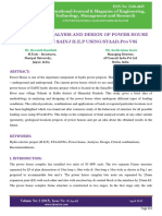 Analysis and Design of Power House Structure