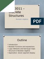 CSC3011 – Discrete Structures